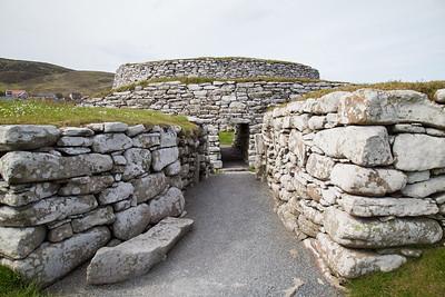 Clickimin Broch in Lerwick, Shetland