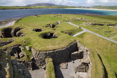 Jarlshof archeological site, Shetland