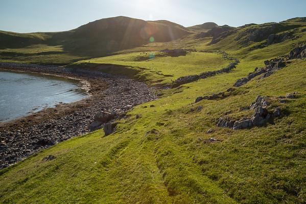 Ancient Settlement Site, Shetland