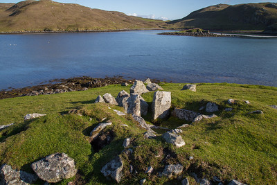 Ancient Tomb in Mavis Grind, Shetland