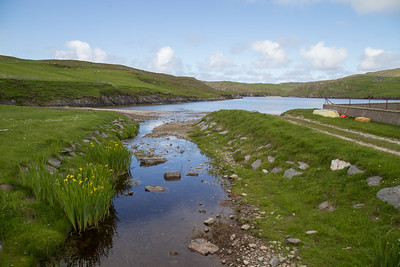 "Northernmost point on the ""Mainland"" of Shetland"