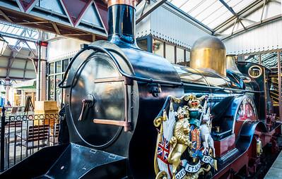 Victoria's personal train