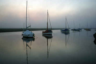 The harbour, Blakeney, Norfolk