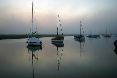 The harbour, Blakeney, Norfolk