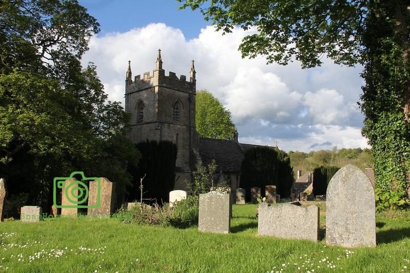 St Peters Church , Upper Slaughter, Cotswolds, England