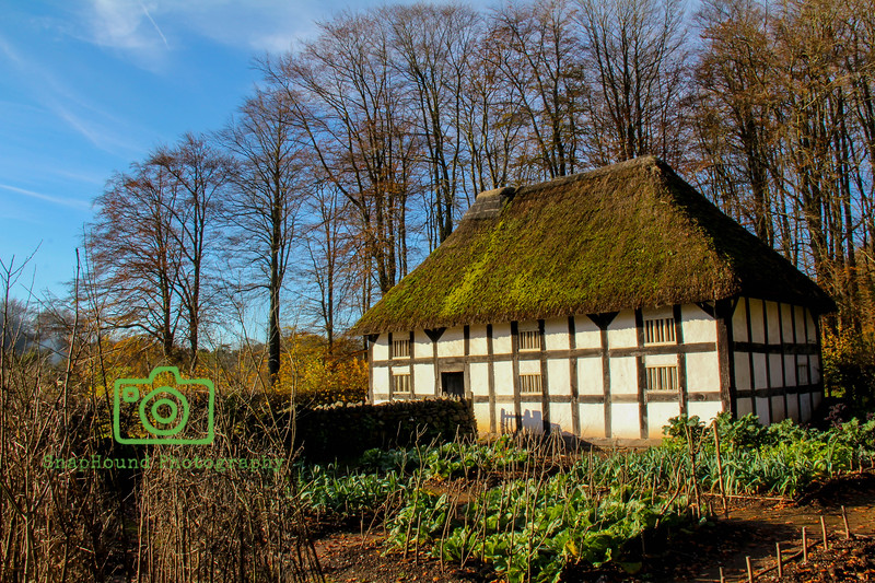 Welsh Thatched Farmhouse