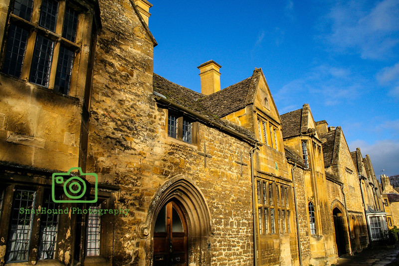 Chipping Camden, Cotswold Sandstone in the Sun