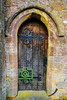 Old Church Door, England