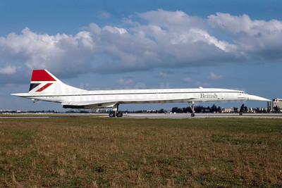 British Airways Aerospatiale-BAC Concorde 102 G-BOAE (msn 212) MIA (Bruce Drum). Image: 102986.