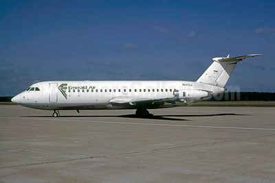 Emerald Air BAC 1-11 204AF N1120J (msn 102) IAH (Keith Armes). Image: 947183.