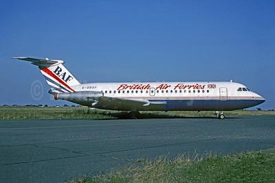 British Air Ferries-BAF BAC 1-11 201AC G-DBAF (msn 011) SEN (Christian Volpati Collection). Image: 952923.