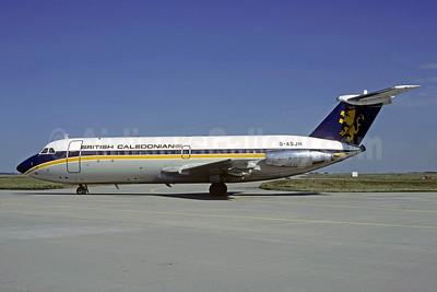 British Caledonian Airways BAC 1-11 201AC G-ASJH (msn 012) CDG (Christian Volpati). Image: 907582.