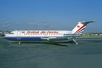 British Air Ferries BAC 1-11 201AC G-OCNW (msn 012) SEN (Christian Volpati Collection). Image: 952923.