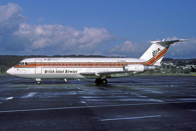 British Island Airways-BIA-Air Florida BAC 1-11 416EK G-CBIA (msn 166) ZRH (Rolf Wallner). Image: 913291.