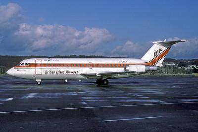 British Island Airways-BIA-Air Florida BAC 1-11 416EK G-CBIA (msn 166) ZRH (Rolf Wallner). Image: 913291.