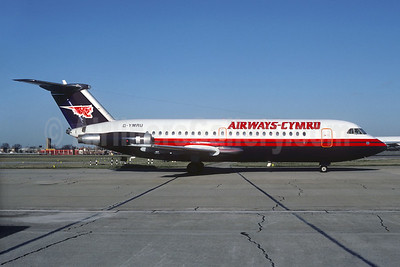 Airways Cymru BAC 1-11 304AX G-YMRU (msn 110) (Christian Volpati Collection). Image: 930672.