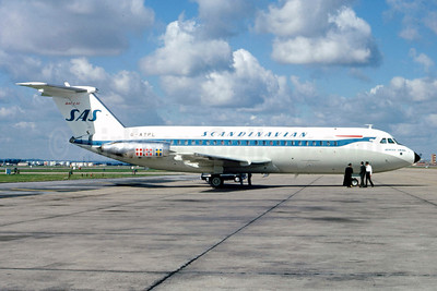 Scandinavian Airlines System-SAS BAC 1-11 301AG G-ATPL (msn 035) (Stephen Tornblom Collection). Image: 913906.