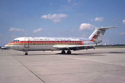 AeroAmerica BAC 1-11 401AK N5016 (msn 056) TXL (Wolfgang Hoth - Bruce Drum Collection). Image: 947224.