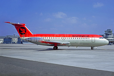 Cambrian Airways BAC 1-11 416EK G-AVOE (msn 129) LBG (Christian Volpati). Image: 925978.