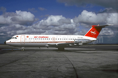 Air Malawi BAC 1-11 481FW 7Q-YKF (msn 243) BLZ (Christian Volpati Collection). Image: 910161.