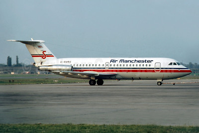 Air Manchester BAC 1-11 416EK G-SURE (msn 129) BHX (SM Fitzwilliams Collection). Image: 909797.