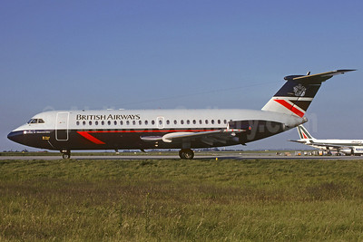 British Airways BAC 1-11 408EF G-BBMG (msn 115) CDG (Christian Volpati). Image: 911408.
