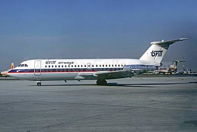 Britt Airways BAC 1-11 416EK N390BA (msn 129) ORD (Christian Volpati Collection). Image: 930179.