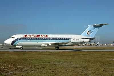 Kabo Air BAC 1-11 423ET 5N-GGG (msn 154) MIA (Bruce Drum). Image: 104688.