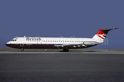 British Airways BAC 1-11 510ED G-AVMU (msn 148) CDG (Christian Volpati). Image: 907554.