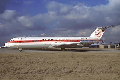 TAROM-Transporturile Aeriene Romane (Romanian Air Transport) BAC 1-11 561RC YR-BRC (msn 403) ORY (Jacques Guillem). Image: 930802.