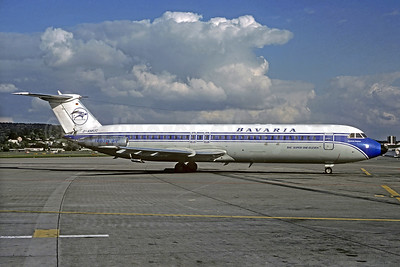 Bavaria Fluggesellschaft BAC 1-11 528FL D-AMUC (msn 227) ZRH (Christian Volpati Collection). Image: 931733.