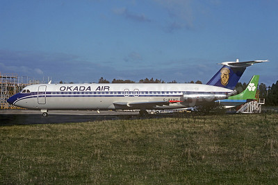 Okada Air BAC 1-11 510ED G-AVMZ (5N-OSA) (msn 153) (Christian Volpati Collection). Image: 936431.