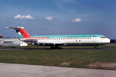 Airline Color Scheme - Introduced 1968 (Flamingo Jet)
