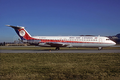 Dan-Air London (Dan-Air Services) BAC 1-11 518FG G-BDAS (msn 202) SZG (Jacques Guillem Collection). Image: 931732.