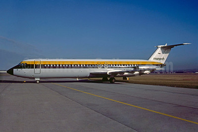 Monarch Airlines BAC 1-11 517FE G-BCXR (msn 198) (Bruce Drum Collection). Image: 935028.