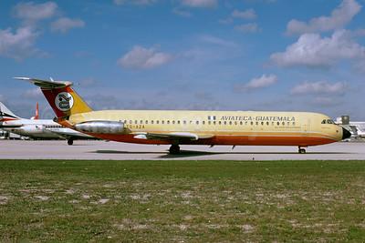 Aviateca Guatemala BAC 1-11 527FK TG- AZA (msn 231) MIA (Bruce Drum). Image: 103802.