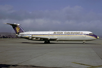 British Caledonian Airways BAC 1-11 501EX G-AWYS (msn 175) ZRH (Rolf Wallner). Image: 912984.