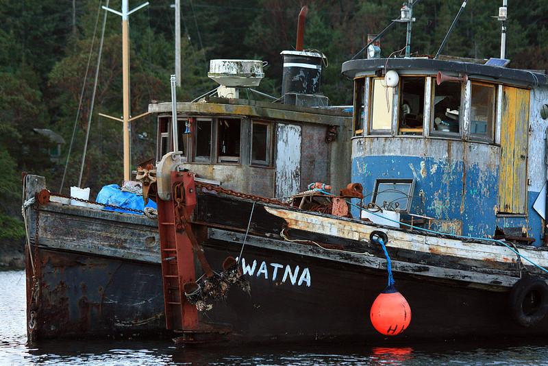 Fading Tug Boats