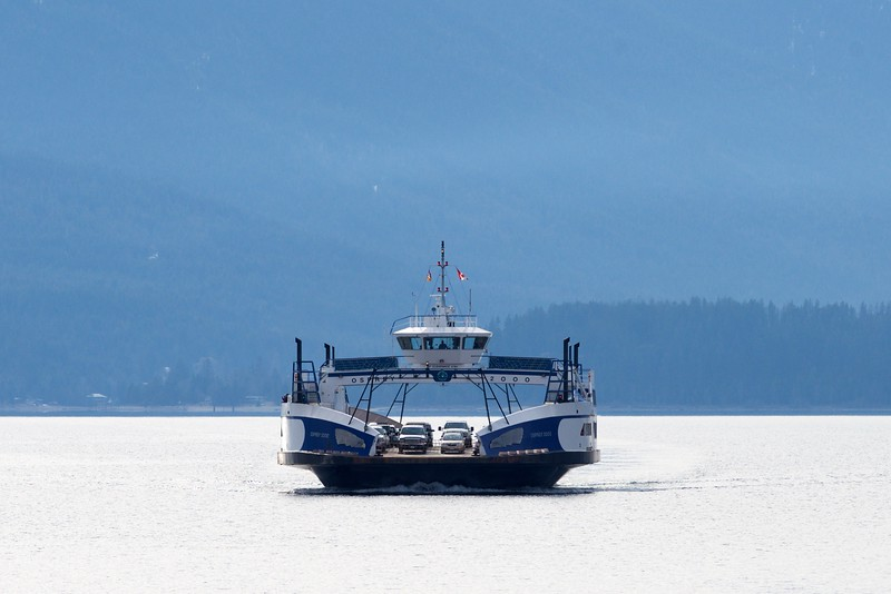 Kootenay Lake Ferry, British Columbia