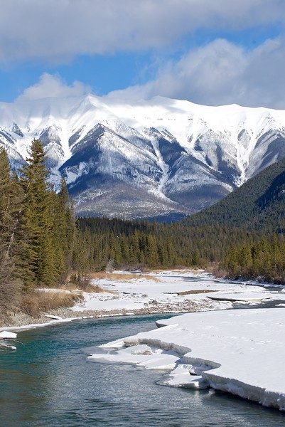 Kootenay River, Kootenay National Park, British Columbia