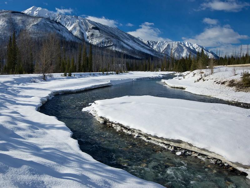 Vermillion River, Kootenay National Park, British Columbia