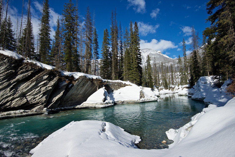 Vermillion River, Kootenay National Park, British Columbia