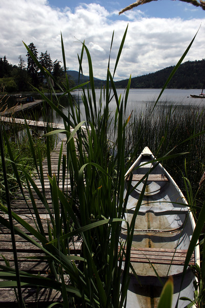 Saint Mary's Lake, Salt Spring Island BC, Canada