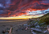 Long Beach British Columbia Canada Summer Solstice - full view