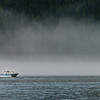 Boat in the Mist, Vancouver Island