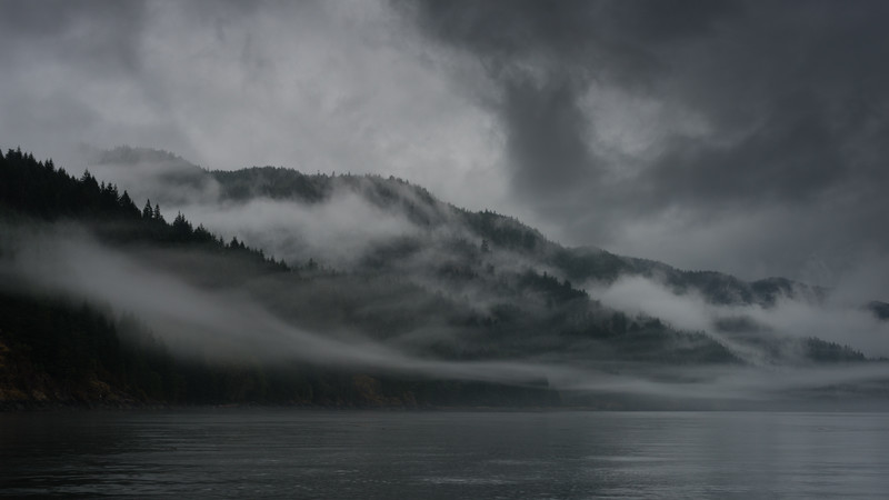 Quadra Island Mists