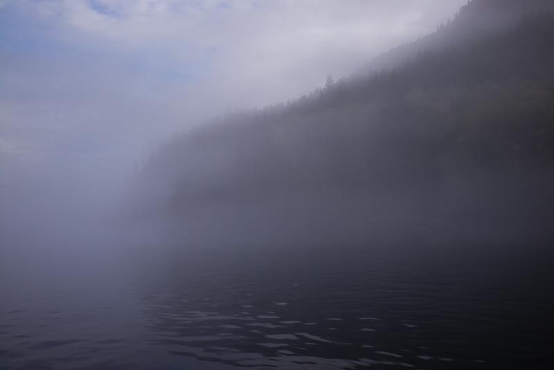 Early Morning Mist, Quadra Island