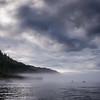 Slamon Fishing in the Mist, Quadra Island