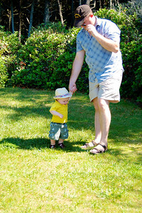 Edmund with daddy