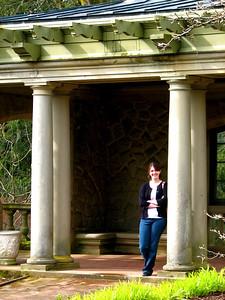 Becca in the Italian Garden